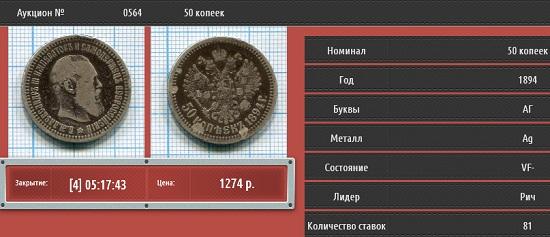 Интернет-аукцион Ретромания2